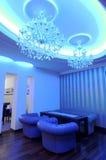 Blue Interiors Stock Photography