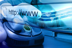 Blue Internet Mouse Search stock photos