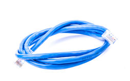Blue internet wire Stock Photos