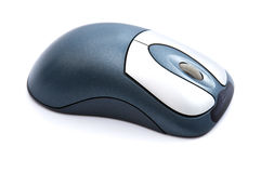Blue Internet Wireless Mouse Royalty Free Stock Photography