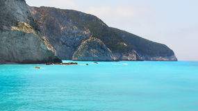 Blue Ionian Sea,  Island Boat Trip Royalty Free Stock Photography
