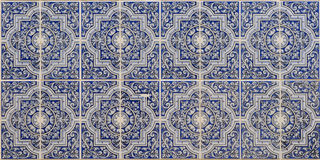 Blue Islamic patterns Stock Images