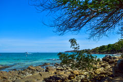 Blue island Royalty Free Stock Images