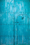 Blue Italian Door Stock Image