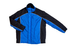 Blue jacket Royalty Free Stock Photography
