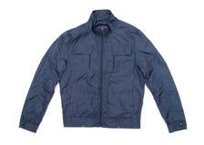 Blue jacket Royalty Free Stock Image