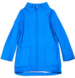 Blue jacket. Stock Photography