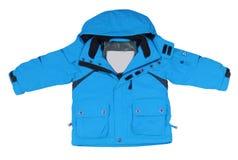 Blue jacket Stock Image