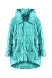 Blue jacket isolated Stock Photo