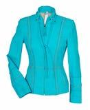 Blue jacket Royalty Free Stock Photos