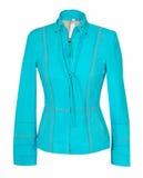 Blue jacket Stock Images