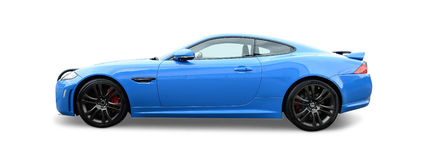 Blue Jaguar Royalty Free Stock Photo