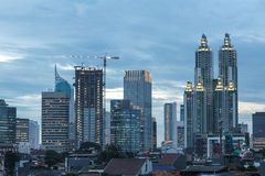 Blue Jakarta, Indonesia Stock Photography