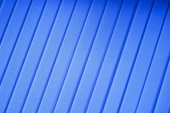 Blue jalousie background Royalty Free Stock Photos