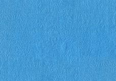 Blue japanese rice paper. Blue textured japanese rice paper Stock Image