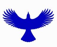 Blue Jay Silhouette, vector Stock Photos