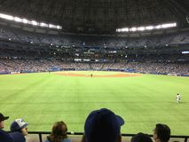 Blue Jays baseball game Stock Photography