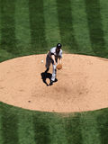 Blue Jays pitcher Jason Frasor throws pitch Stock Photography