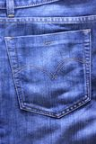 Blue Jean Stock Image