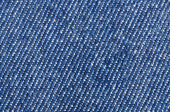 Blue jean background Stock Photography