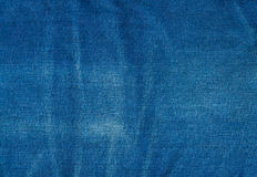 Blue jean background ,Blue denim jeans texture Stock Photography