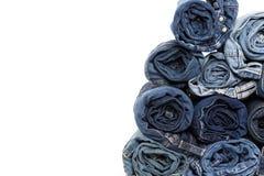 Blue denim jeans texture isolated. Blue jean background .Blue denim jeans texture. Jeans background. Blue torn denim jeans texture.classic nature tone jean.denim stock image