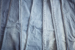 Blue jean background. Blue denim jeans texture Royalty Free Stock Photography