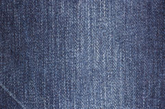 Blue jean background texture isolated Royalty Free Stock Images
