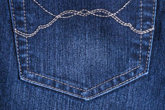 Blue jean background texture isolated Royalty Free Stock Image