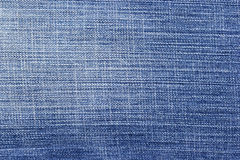 Blue jean background  and texture, Partial pale of jeans.  Royalty Free Stock Image