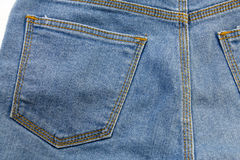 Blue jean or blue denim from industrial Royalty Free Stock Image