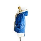 Blue jean coat Royalty Free Stock Photo