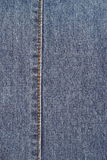 Blue jean detail Royalty Free Stock Photo