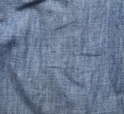 Blue jean. Fabric for background Royalty Free Stock Images