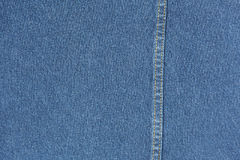 Blue jean fabric macro texture for background Royalty Free Stock Photo