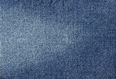 Blue Jean fabric Stock Photography