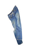 Blue Jean hanging Royalty Free Stock Image