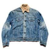 Blue Jean jacket Stock Photo