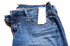 Blue jean. Royalty Free Stock Photography