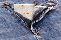 Blue jean pants Stock Photo