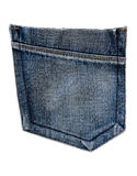 Blue Jean Pocket Stock Photos
