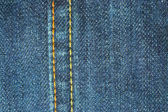 Free Blue Jean Seams Royalty Free Stock Photo - 10111085