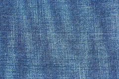Blue jean seams Royalty Free Stock Photography