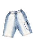 Blue Jean Shorts Royalty Free Stock Photos