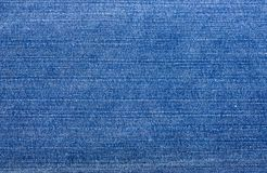 Blue jean texture Royalty Free Stock Image