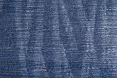 Blue jean texture background. Stock Images