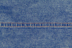 Blue jean texture  background Royalty Free Stock Images
