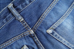 Blue jean texture Royalty Free Stock Photos