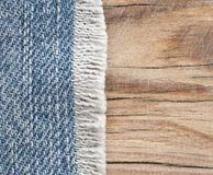 Blue jean texture Royalty Free Stock Photography