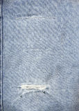 Blue Jeans. Original American blue jeans fabric useful as a background Stock Photo